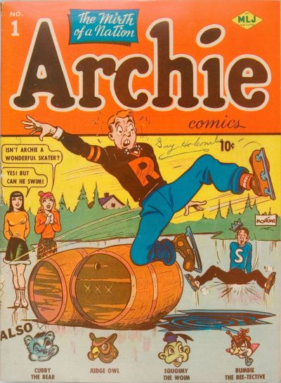 archie-comics-number-1