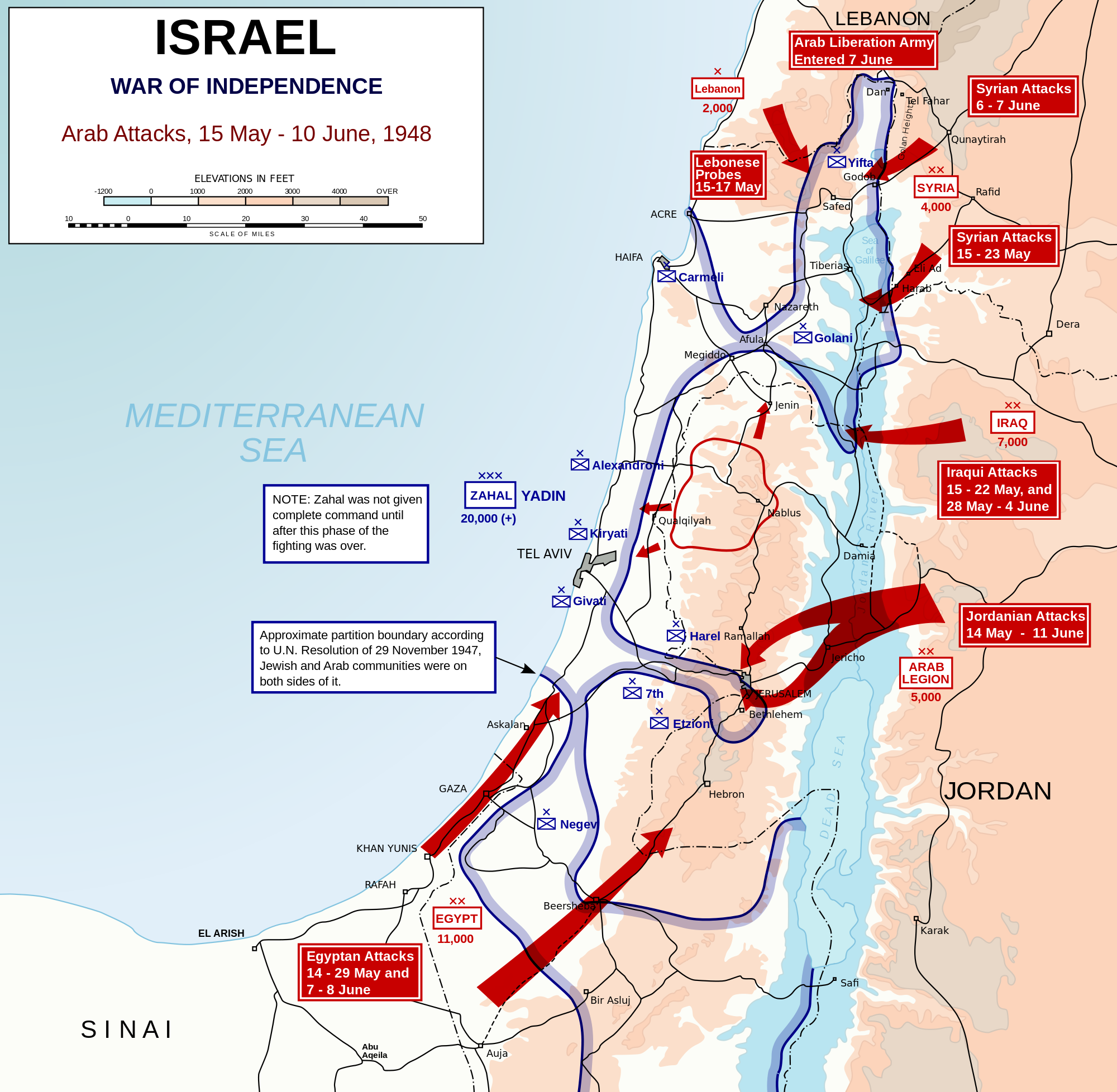 the 1948 arab israeli war as a key turning point in the political development of the middle east Following the declaration of the establishment of the state of israel on 14 may 1948, the arab league decided to intervene on behalf of palestinian arabs, marching their forces into former british palestine, beginning the main phase of the 1948 arab-israeli war.