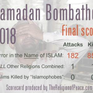 Ramadan's 2018 Body Count