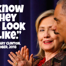 Hillary Clinton's Racist Remark on Blacks