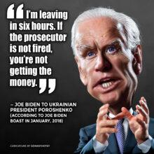 Biden's Boast: Withholding Ukraine Cash in Quid Pro Quo