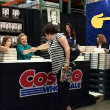 Toilet Paper Panic Buying Means More Room for Clinton Book Signings