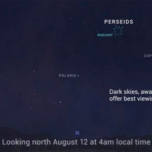 Showtime for the Perseid Meteor Shower