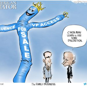 Love Toon: Biden Scandal Grows As Business Partners Provide Evidence