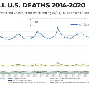 Study on All U.S. Deaths Dampens COVID-19 Fear Mongering